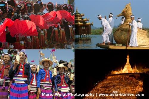 Feste und Feiertage in Myanmar, Burma   Fotos: Mario Weigt