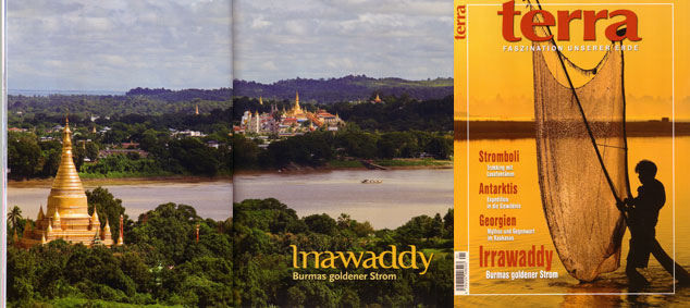 Reportage: Burmas goldener Strom | Fotos Mario Weigt | Text Walter M. Weiss
