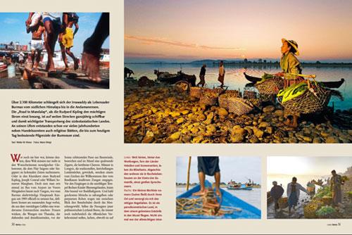 Myitkyina und Bhamo | Reportage Irrawaddy - Burmas goldener Strom | Fotos Mario Weigt | Text Walter M. Weiss