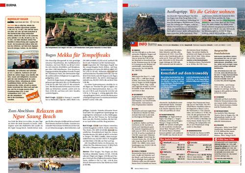 Teil 3 Mandalay nach Bagan von der Reportage - Myanmar - Flussabwärts von Myitkyina nach Bagan auf dem Irrawaddy