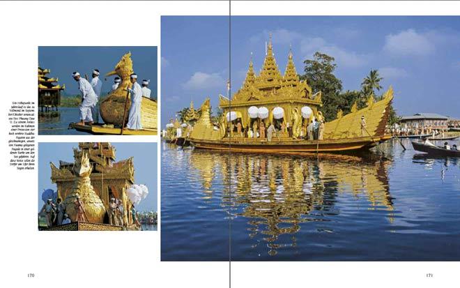 Doppelseite aus dem Premium Bildband MYANMAR | BURMA