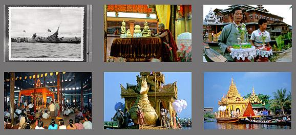 Phaung Daw U Fest auf dem Inle See in Myanmar, Burma | Fotos Mario Weigt