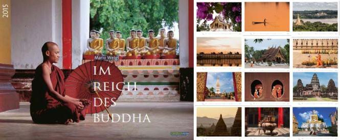 Kalender Im Reich des Buddha 2015 mit Myanmar, Burma