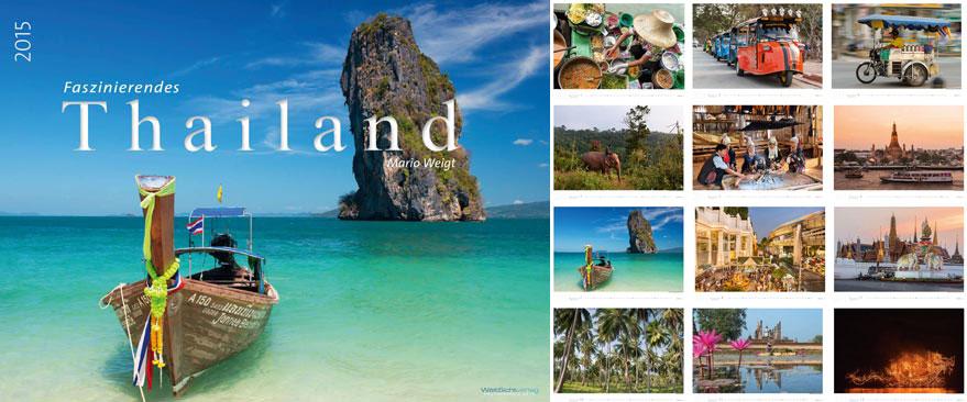 Thailand Kalender 2015 | Mario Weigt Photography