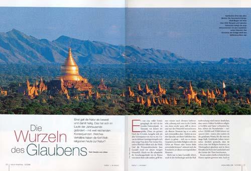 Unesco unterstützt Myanmar, Burma, beim Erhalt und der Restaurierung der Tempel und Pagoden in Bagan   Foto Mario Weigt