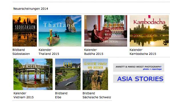 Neuerscheinungen 2014-15 Alle Kalender für 2015 und Bildbände | Mario Weigt Photography
