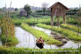 Reisetipp für Myanmar, Burma: Inle See und die schwimmenden Gärten | Mario Weigt Photography