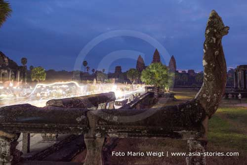 Kambodscha: Angkor Wat vor Sonnenaufgang | Foto Mario Weigt | www.asia-stories.com