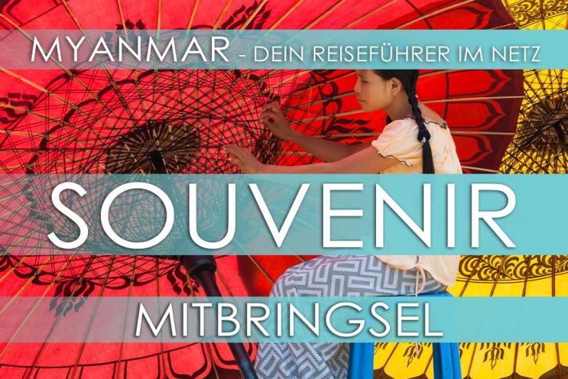 Traditionelles Handwerk und Souvenirs aus Myanmar (Burma)
