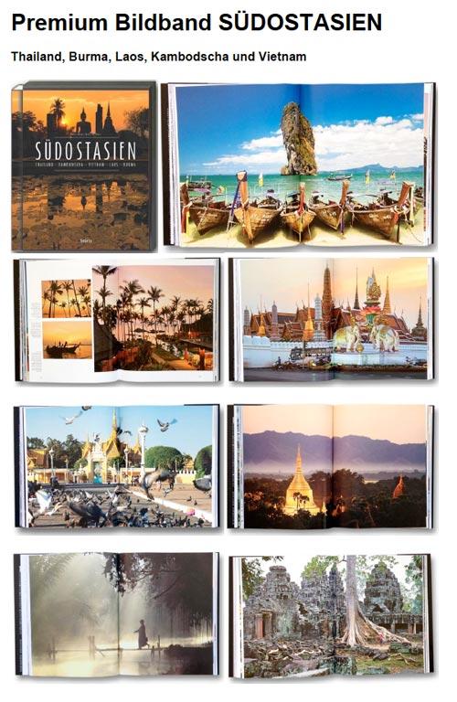 Premium Bildband Südostasien mit Burma, Thailand, Vietnam, Laos und Kambodscha | Fotos Mario Weigt | Text Walter M. Weiss | Verlagshaus Würzburg