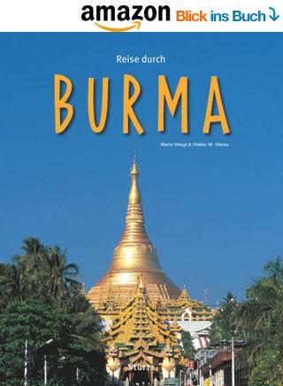 Bildband Reise durch Burma | Myanmar