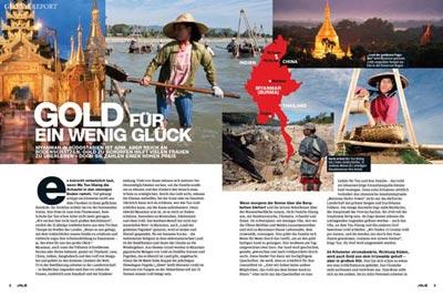 Reportage aus Myanmar (Burma) | Gold für ein wenig Glück | | Mario Weigt Photography