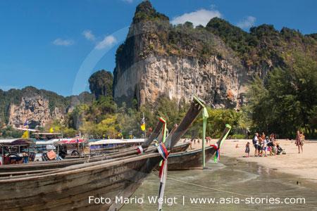 Thailand | Provinz Krabi | Railay, Railei oder Rai Leh Strand | Foto Mario Weigt