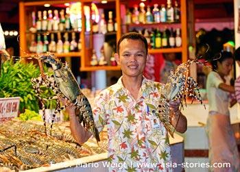 Thailand | Phuket | Hummer (Lobster) ist eine Spezialität auf Phuket | Mario Weigt Photography