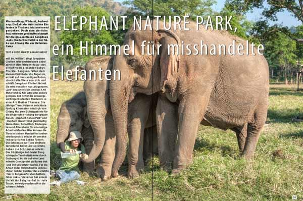 Thailand: Sangduen Lek Chailert im Elephant Nature Park | Reportage von Annett & Mario Weigt