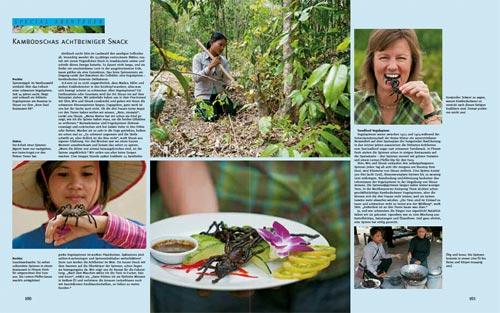 """Reportage: Gegrillte Vogelspinnen in Kambodscha im Bildband """"Abenteuer Mekong"""""""