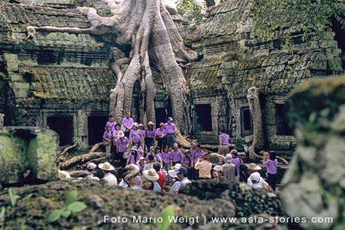 Kambodscha | Angkor | Tempel Ta Prohm | Foto: Mario Weigt