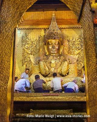 Myanmar (Burma, Birma) | Mahamuni Festival in Mandalay | Foto Mario Weigt