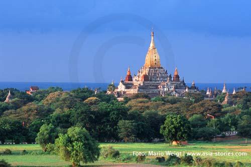 Myanmar (Burma, Birma) | Ananda-Tempel in Bagan | Foto: Mario Weigt