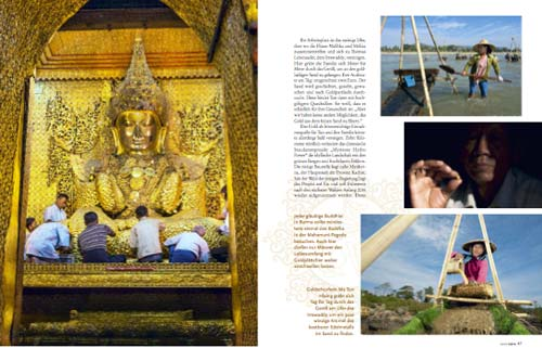 Myanmar (Burma, Birma) Reportage: Buddha im Goldrausch | Text und Foto von Annett und Mario Weigt