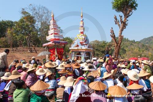 Festivals und Feiertage in Myanmar (Burma, Birma) | Hsipaw| Shan State | Foto Mario Weigt