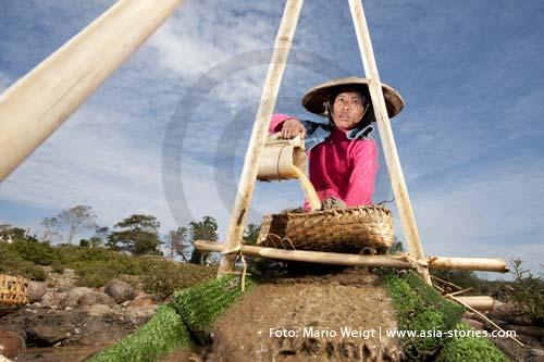 Myanmar (Burma, Birma) | Goldsucher am Irrawaddy (Ayeyarwady) | Foto: Mario Weigt