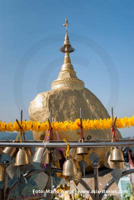 Myanmar (Burma, Birma) | Goldener Felsen Kyaiktiyo | Foto: Mario Weigt