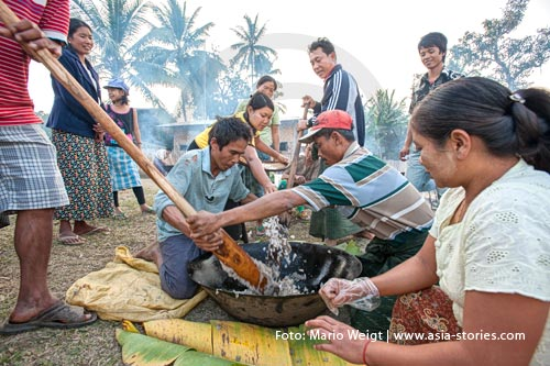 Myanmar (Burma, Birma) | Reis Festival | Foto Mario Weigt