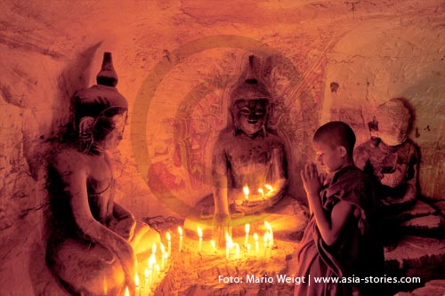 Myanmar (Burma, Birma) | Höhlen in Magwe | Pho Win Taung Festival | Foto Mario Weigt