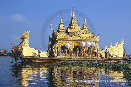 Myanmar (Burma, Birma) | Phaung daw U Festival | Inle-See | Foto Mario Weigt