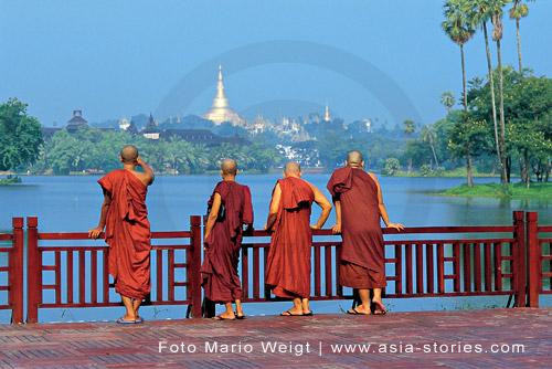 Die Toten Hosen geben ein Konzert in Myanmar, Burma, Birma