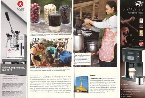 Laos, Paxong (Paksong), Kaffeeproduktion auf dem Bolaven-Plateau: Reportage