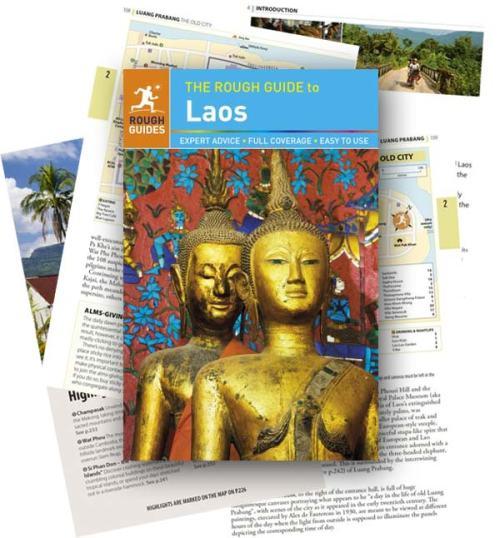 Reiseführer Laos: Die aktuelle Auflage von Rough Guide to Laos