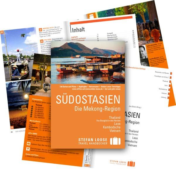 Reiseführer und Guidebooks für Kambodscha: Aktuelle Auflage vom Klassiker Stefan Loose Travelhandbuch Südostasien, Mekong-Region