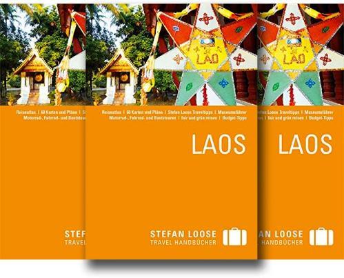 Aktuelle Auflage 2014 vom Reiseführer Stefan Loose Travelhandbuch Laos