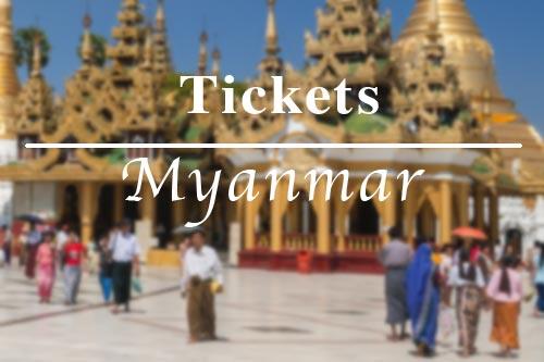 Alle Tickets, Eintrittspreise und Gebühren für Sehenswürdigkeiten in Myanmar (Burma, Birma)