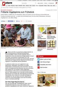 Reportage: Frittierte Vogelspinnen zum Frühstück in Stern von Mario Weigt | www.asia-stories.com