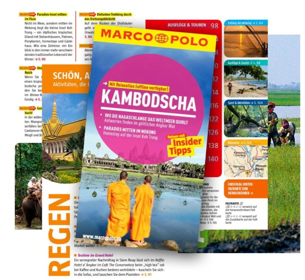 Kambodscha: Reiseführer und Guidebooks | Marco Polo Kambodscha