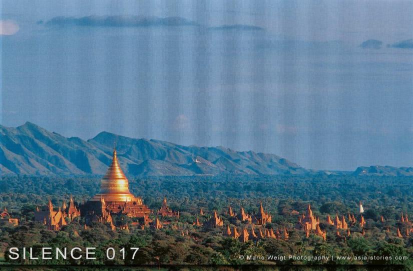 Fotoabzüge und Fine Art Prints aus der Fotoserie SILENCE | Myanmar (Burma) | Tempelebene Bagan | Foto: Mario Weigt