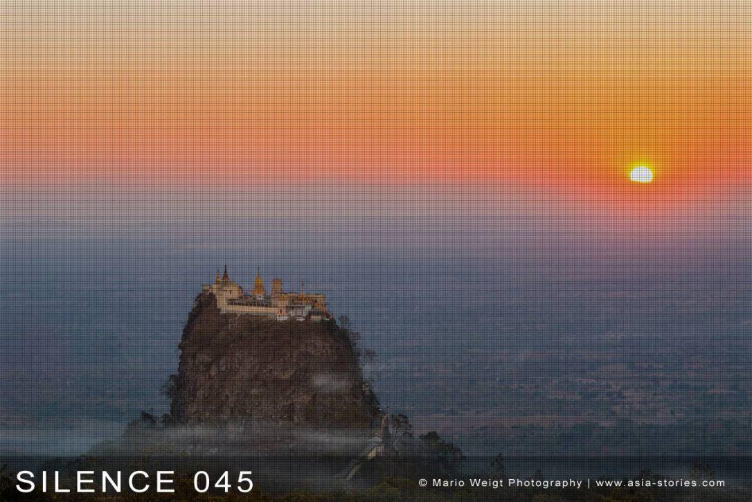 Fotoabzüge und Fine Art Prints aus der Fotoserie SILENCE | Myanmar (Burma) | Mt. Popa | Foto: Mario Weigt | SILENCE 45