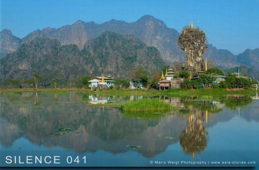 Fotoabzüge und Fine Art Prints aus der Fotoserie SILENCE | Myanmar (Burma) | Hpa-an | Pagode Kyauk Ka Lat | Foto: Mario Weigt