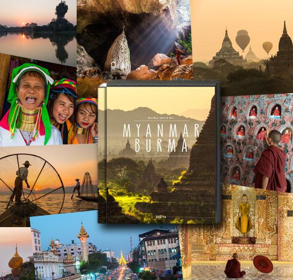 NEU!! Herbst 2015: Premium Bildband Myanmar | Burma erscheint im Verlagshaus Würzburg/Stürtz (Fotos von Mario Weigt und Text von Walter M. Weiss)