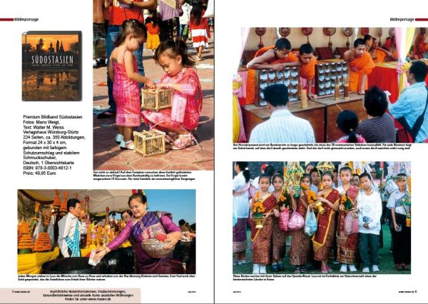 Laos: That Luang Festival in Vientiane | Fotos: Mario Weigt