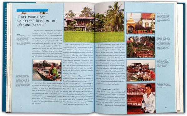 Bildband Abenteuer Mekong | Flusskreuzfahrt auf dem Mekong durch Laos | Veranstalter Lernidee Berlin | Text und Fotos vom Annett und Mario Weigt