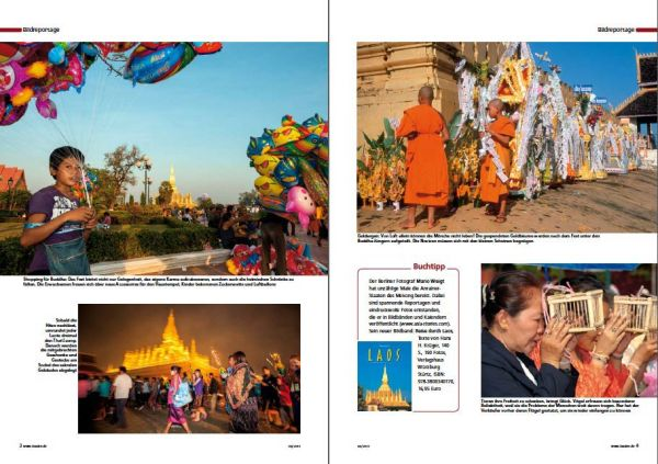 Laos: That Luang Fest in Vientiane | Fotos: Mario Weigt