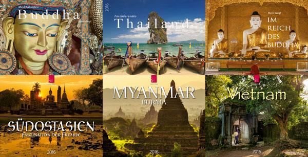 Kalender 2016 | Meditation Buddha | Thailand | Im Reich des Buddha | Südostasien | Myanmar | Vietnam | Asien