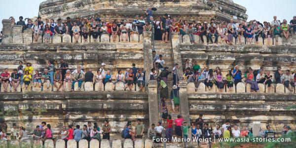 2015: Tourismus in Myanmar (Burma, Birma)