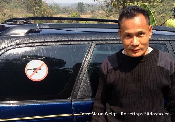Überland von Thailand nach Myanmar (Burma, Birma) | Grenze Thailand - Myanmar (Burma) | Mae Sot - Myawaddy