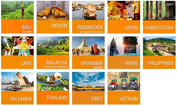 Stefan Loose Südostasien und Asien