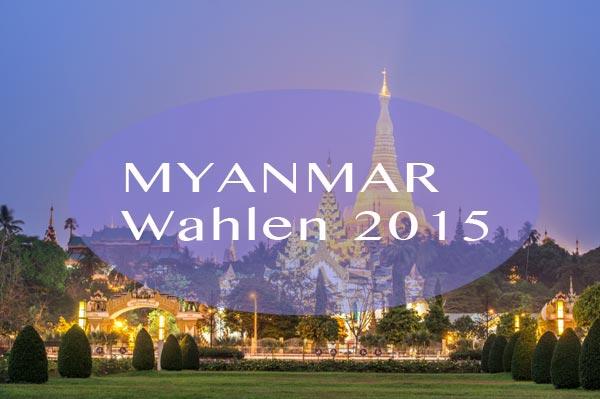 Am 08. November 2015 findet in Myanmar, ehemals Burma oder Birma, die Parlamentswahl statt. Die erste freie Wahl nach dem formalen Ende der Militärregierung.